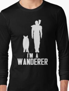 I'm A Wanderer (White) Long Sleeve T-Shirt