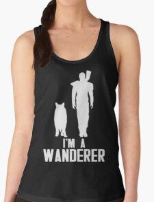 I'm A Wanderer (White) Women's Tank Top
