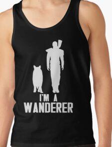 I'm A Wanderer (White) Tank Top