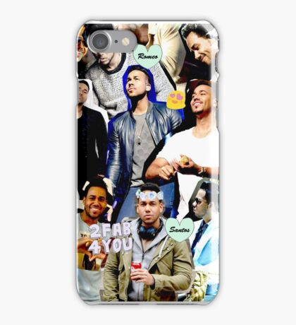 Romeo Santos Collage iPhone Case/Skin