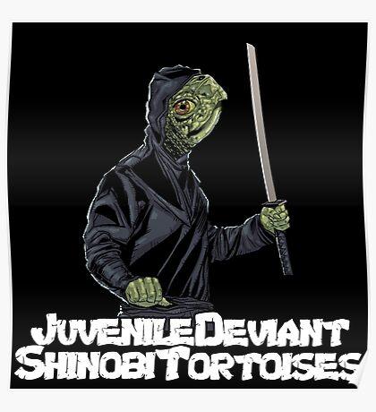 Juvenile Deviant Shinobi Tortoises Poster