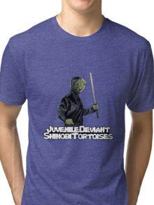 Juvenile Deviant Shinobi Tortoises Tri-blend T-Shirt