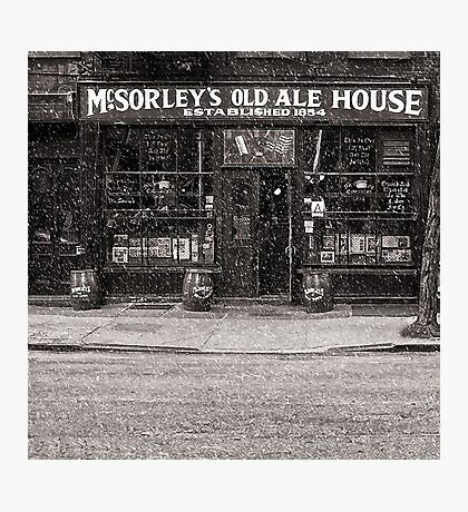 McSorley's Old Ale House Photographic Print