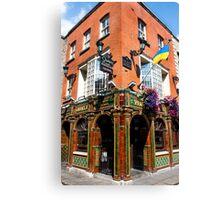 The Quays Bar - Dublin Ireland Canvas Print