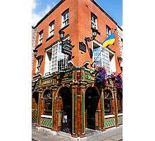 The Quays Bar - Dublin Ireland Photographic Print