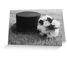 Topper and Bouquet Greeting Card