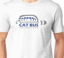 Catbus Transportation (White) Unisex T-Shirt