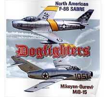 Dogfighters: F-86 vs MiG-15 Poster