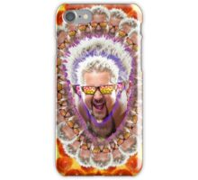Guy Fieri's Bad Donkey Sauce Trip iPhone Case/Skin