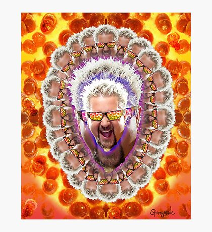 Guy Fieri's Bad Donkey Sauce Trip Photographic Print
