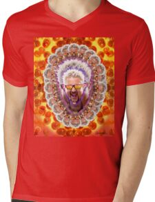 Guy Fieri's Bad Donkey Sauce Trip Mens V-Neck T-Shirt