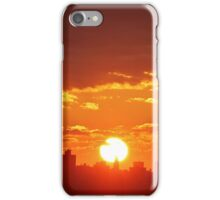 New Year Sunset in New York City  iPhone Case/Skin