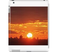 New Year Sunset in New York City  iPad Case/Skin
