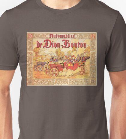 Vintage poster - De Dion Bouton Automobile Unisex T-Shirt