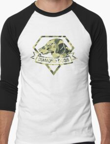 Diamond Camouflage Men's Baseball ¾ T-Shirt
