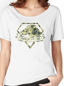 Diamond Camouflage Women's Relaxed Fit T-Shirt