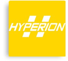 Hyperion Corporation (White) Canvas Print