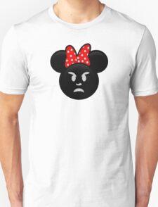 Minnie Emoji - Angry T-Shirt