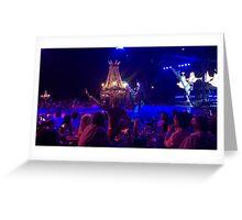 Cuba - Marianao - Tropicana Caberet chandelier Greeting Card
