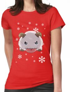 Winter Poro Womens Fitted T-Shirt