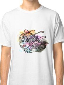 Rainbow Ribbon Little girl Classic T-Shirt