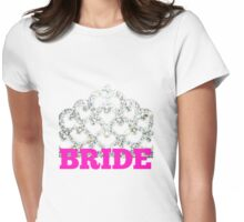 Bride.  Womens Fitted T-Shirt