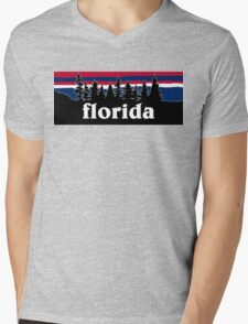 Florida Mens V-Neck T-Shirt