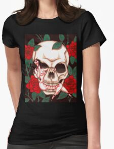 Chasing Death - Act I Womens Fitted T-Shirt