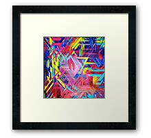 Graffiti Graphic GL2H-1  Framed Print