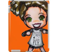 Keep Calm and let your imagination FLY iPad Case/Skin