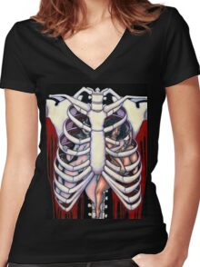Chasing Death - Act II Women's Fitted V-Neck T-Shirt
