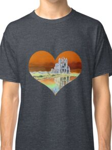 Wobbly Whitby Abbey Classic T-Shirt
