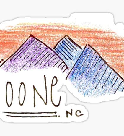 Boone Sticker