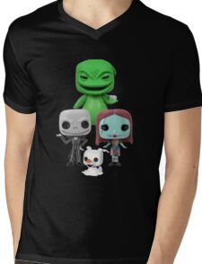 The Nightmare Before Chirstmas Mens V-Neck T-Shirt