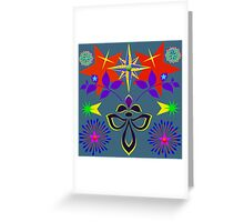 Star Fantasia Explosion  Greeting Card