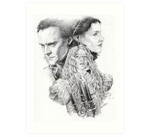 Beware of Crimson Peak Art Print