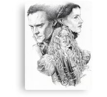 Beware of Crimson Peak Canvas Print