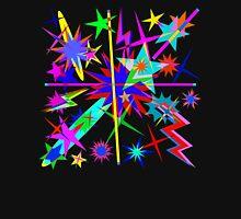 Cosmic Stars & Lightening  Mens V-Neck T-Shirt