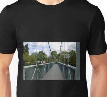 Suspension Bridge over the River Exe Unisex T-Shirt