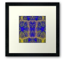 Hawaiian Tortoise Graphic Framed Print