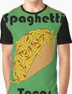 Spaghetti Taco Graphic T-Shirt