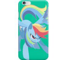 Rainbow Dash In Flight iPhone Case/Skin