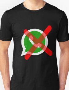 NO WhatsApp Messages Unisex T-Shirt