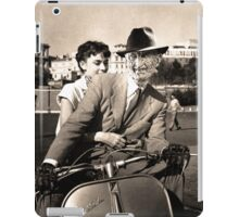 FREDDIE KRUEGER IN ROMAN HOLIDAY iPad Case/Skin