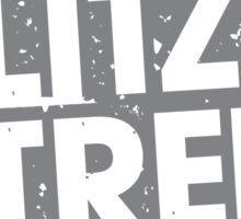Milk.Blitz.Street.Bomb. Eroded Logo Sticker