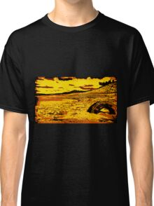 Half-Submerged Tire  Classic T-Shirt