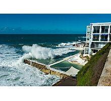 Icebergs Swimming Club Bondi Beach Photographic Print