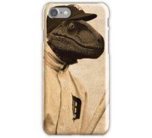 Baseball Velociraptor iPhone Case/Skin
