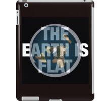 Flat earth,the real truth iPad Case/Skin