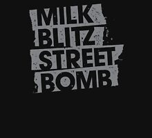 Milk.Blitz.Street.Bomb. Eroded Logo Unisex T-Shirt